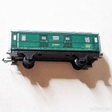 Trains Échelle: VAGÓN CORREOS DE HOJALATA PAYA. 11,5 CM LARGO X 3,4 CM ANCHO.. VELL I BELL. Lote 275891553