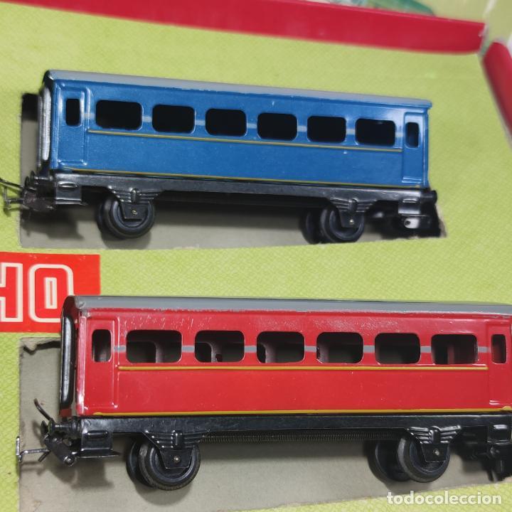 Trenes Escala: Ferrocarril eléctrico a pilas con humo. Payá. Años 50-60. Instrucciones y desplegable de accesorios - Foto 6 - 276705568