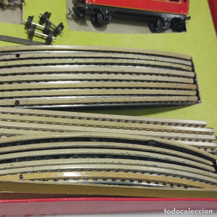 Trenes Escala: Ferrocarril eléctrico a pilas con humo. Payá. Años 50-60. Instrucciones y desplegable de accesorios - Foto 8 - 276705568