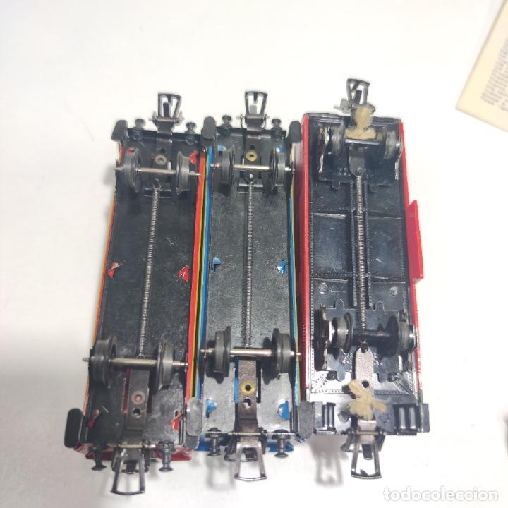 Trenes Escala: Ferrocarril eléctrico a pilas con humo. Payá. Años 50-60. Instrucciones y desplegable de accesorios - Foto 19 - 276705568