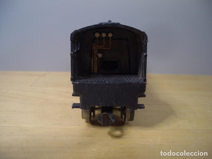 Trenes Escala: ANTIGUO TREN PAYA CON CAJA REF 1402 LOCOMOTORA 1401 VAGON LOTE VAGONES ESCALA - Foto 3 - 277285978
