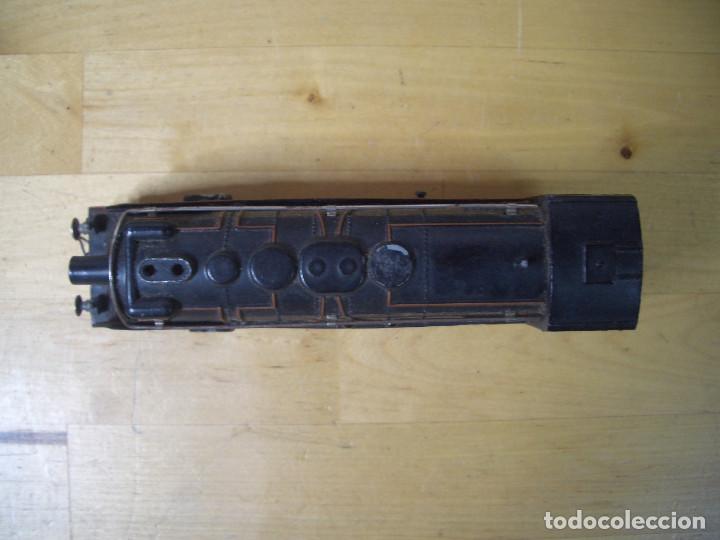 Trenes Escala: ANTIGUO TREN PAYA CON CAJA REF 1402 LOCOMOTORA 1401 VAGON LOTE VAGONES ESCALA - Foto 6 - 277285978