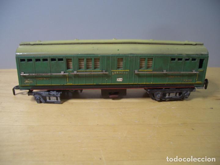 Trenes Escala: ANTIGUO TREN PAYA CON CAJA REF 1402 LOCOMOTORA 1401 VAGON LOTE VAGONES ESCALA - Foto 19 - 277285978