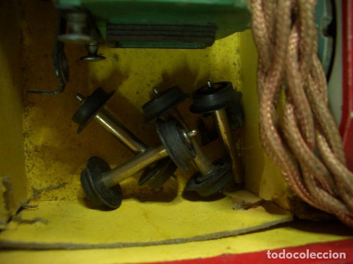 Trenes Escala: ANTIGUO TREN PAYA CON CAJA REF 1402 LOCOMOTORA 1401 VAGON LOTE VAGONES ESCALA - Foto 34 - 277285978