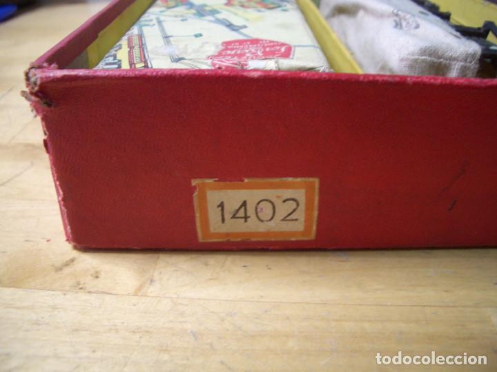 Trenes Escala: ANTIGUO TREN PAYA CON CAJA REF 1402 LOCOMOTORA 1401 VAGON LOTE VAGONES ESCALA - Foto 36 - 277285978