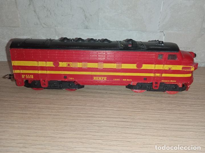 Trenes Escala: Tren locomotora Renfe Payá H0 - Foto 2 - 283761563