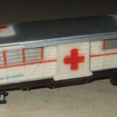 Trenes Escala: VAGON DE TREN COCHE SANIDAD QUIROFANO - PAYA. Lote 287457183