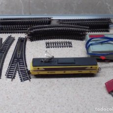 Trenes Escala: LOTE DE PAYA, LOCOMOTORA BB-15006 ELECTRICA DE LA SNCF CON VIAS Y TRANSFORMADOR, ESCALA H0.. Lote 287796328