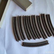 Trenes Escala: PAYA H0, LOTE DE VÍAS CURVAS. Lote 294083648