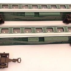 Trenes Escala: VAGONES PASAJEROS DE TREN PAYÁ ESCALA HO. Lote 296782818