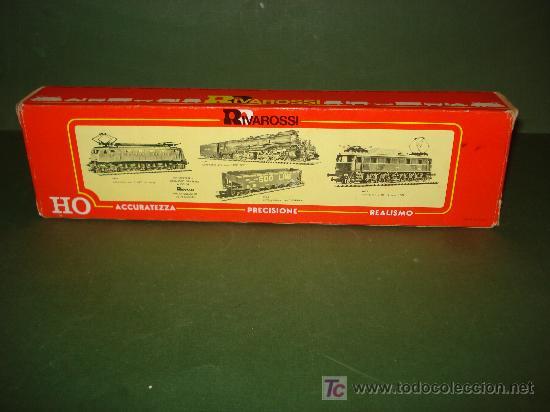 Trenes Escala: Caja y estuche de la locomotora ref. 1456-R de RIVAROSSI .H0. - Foto 2 - 24684019