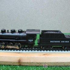 Trenes Escala - (RIVAROSSI) LOCOMOTORA VAPOR CON TENDER CC REF: 1264 - 20836562