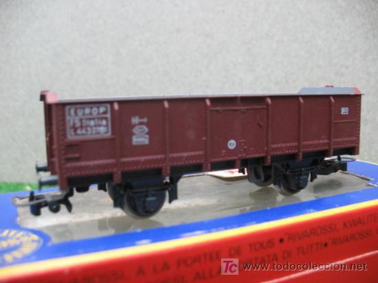 Trenes Escala: (RIVAROSSI) VAGON DE MERCANCIAS ABIERTO H0 - Foto 2 - 20900636