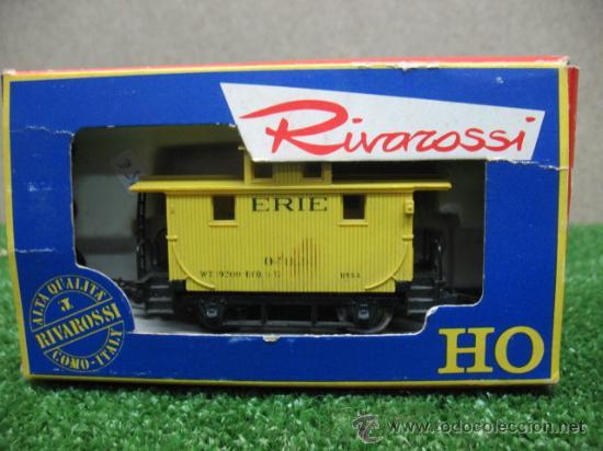RIVAROSSI - CARRO MERCI 56 - ESCALA H0 (Juguetes - Trenes a Escala H0 - Rivarossi H0)