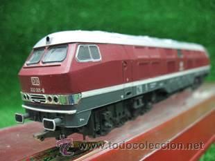 RIVAROSSI, HO, DE LA DB, DIESEL 232 001-8, REF: 1996 (Juguetes - Trenes a Escala H0 - Rivarossi H0)