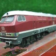 Trenes Escala: RIVAROSSI, HO, DE LA DB, DIESEL 232 001-8, REF: 1996. Lote 24150366