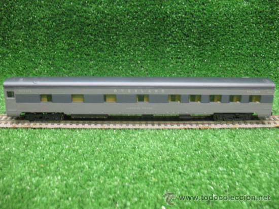 RIVAROSSI REF:2642- VAGON DE PASAJEROS OVERLAND- ESCALA H0- (Juguetes - Trenes a Escala H0 - Rivarossi H0)