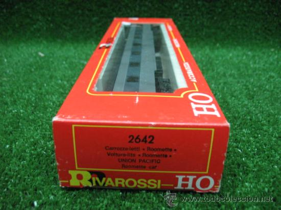 Trenes Escala: RIVAROSSI Ref:2642- VAGON DE PASAJEROS OVERLAND- ESCALA H0- - Foto 7 - 26060014