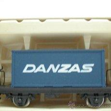 Trenes Escala: RIVAROSSI REF:2716 – VAGON DE MERCANCIAS CONTENEDOR DANZAS– ESCALA H0. Lote 29739577