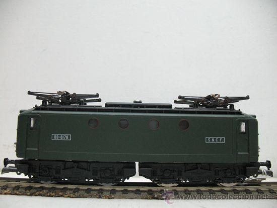 Trenes Escala: RIVAROSSI REF:45 - LOCOMOTORA ELECTRICA CORRINTE CONTINUA, CON LUZ DE LA S.N.C.F ESCALA HO. - Foto 2 - 29738169