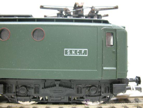 Trenes Escala: RIVAROSSI REF:45 - LOCOMOTORA ELECTRICA CORRINTE CONTINUA, CON LUZ DE LA S.N.C.F ESCALA HO. - Foto 3 - 29738169