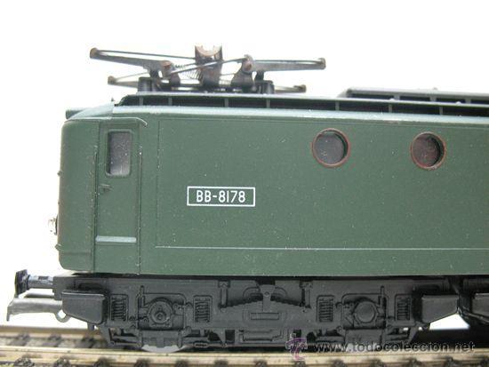 Trenes Escala: RIVAROSSI REF:45 - LOCOMOTORA ELECTRICA CORRINTE CONTINUA, CON LUZ DE LA S.N.C.F ESCALA HO. - Foto 4 - 29738169