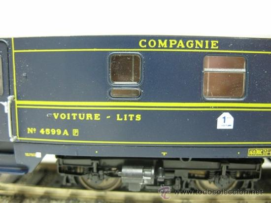Trenes Escala: RIVAROSSI Rfe:2596 - VAGON DE VIAJEROS EUROPEENS EXPRESS -ESCALA H0- - Foto 2 - 191182281