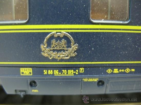 Trenes Escala: RIVAROSSI Rfe:2596 - VAGON DE VIAJEROS EUROPEENS EXPRESS -ESCALA H0- - Foto 3 - 191182281