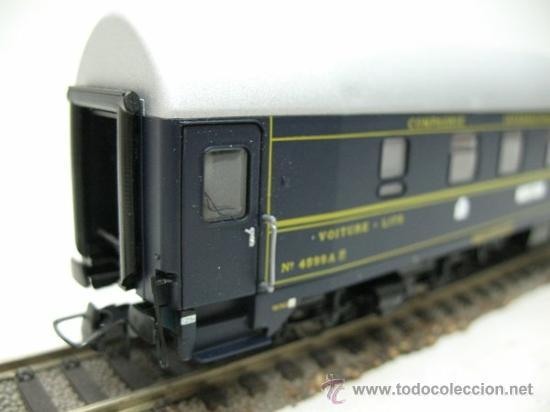 Trenes Escala: RIVAROSSI Rfe:2596 - VAGON DE VIAJEROS EUROPEENS EXPRESS -ESCALA H0- - Foto 4 - 191182281