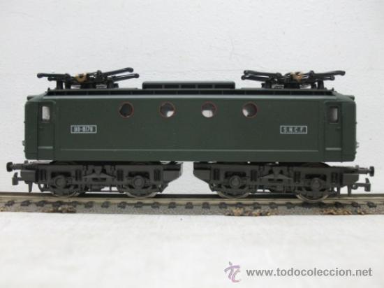 RIVAROSSI -LOCOMOTORA ELECTRICA BB-8178 DEL AS.N.C.F.-CORRIENTE CONTINUA-ESCALA H0- (Juguetes - Trenes a Escala H0 - Rivarossi H0)