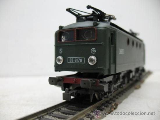 Trenes Escala: RIVAROSSI -LOCOMOTORA ELECTRICA BB-8178 DEL AS.N.C.F.-CORRIENTE CONTINUA-ESCALA H0- - Foto 2 - 34232374