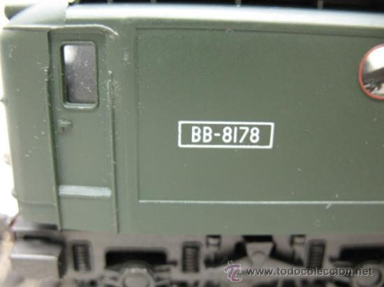 Trenes Escala: RIVAROSSI -LOCOMOTORA ELECTRICA BB-8178 DEL AS.N.C.F.-CORRIENTE CONTINUA-ESCALA H0- - Foto 3 - 34232374