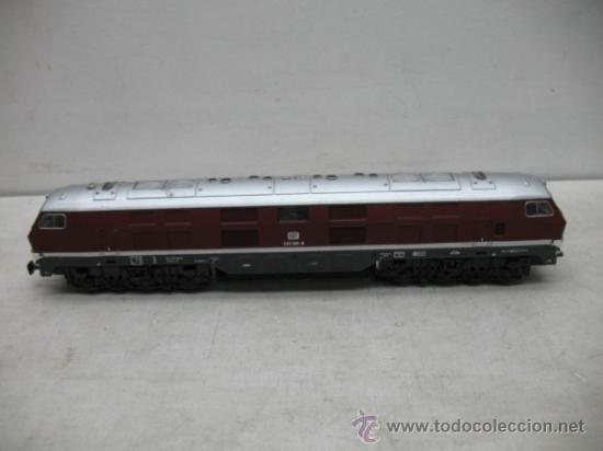 RIVAROSSI REF: 1099 - LOCOMOTORA DIESEL DE LA DB CON CORRIENTE ALTERNA - ESCALA H0 (Juguetes - Trenes a Escala H0 - Rivarossi H0)
