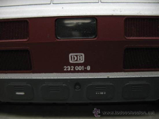 Trenes Escala: Rivarossi REF: 1099 - Locomotora diesel de la DB con corriente alterna - Escala H0 - Foto 2 - 34661338