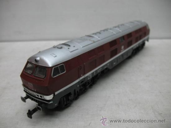 Trenes Escala: Rivarossi REF: 1099 - Locomotora diesel de la DB con corriente alterna - Escala H0 - Foto 3 - 34661338