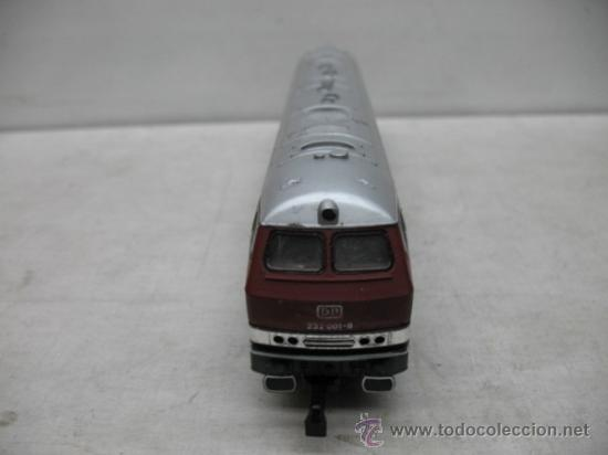 Trenes Escala: Rivarossi REF: 1099 - Locomotora diesel de la DB con corriente alterna - Escala H0 - Foto 4 - 34661338