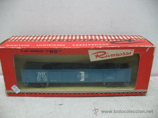 RIVAROSSI 2254 - VAGON DE MERCANCIAS BORDE BAJO -BOSTON&MAN-ESC H0- (Juguetes - Trenes a Escala H0 - Rivarossi H0)