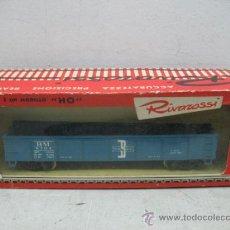 Trenes Escala: RIVAROSSI 2254 - VAGON DE MERCANCIAS BORDE BAJO -BOSTON&MAN-ESC H0-. Lote 38204569