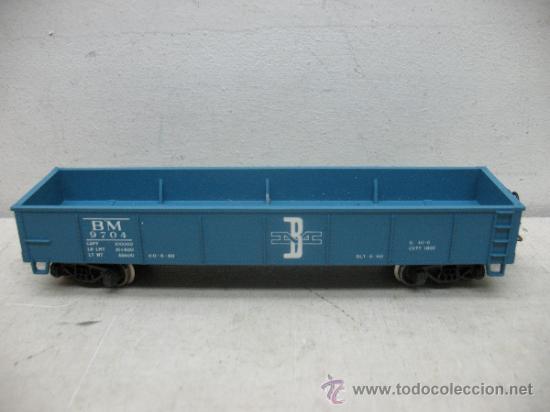 Trenes Escala: RIVAROSSI 2254 - VAGON DE MERCANCIAS BORDE BAJO -BOSTON&MAN-ESC H0- - Foto 6 - 38204569