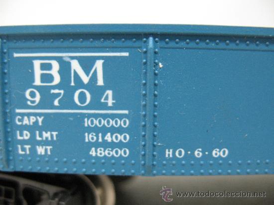 Trenes Escala: RIVAROSSI 2254 - VAGON DE MERCANCIAS BORDE BAJO -BOSTON&MAN-ESC H0- - Foto 5 - 38204569