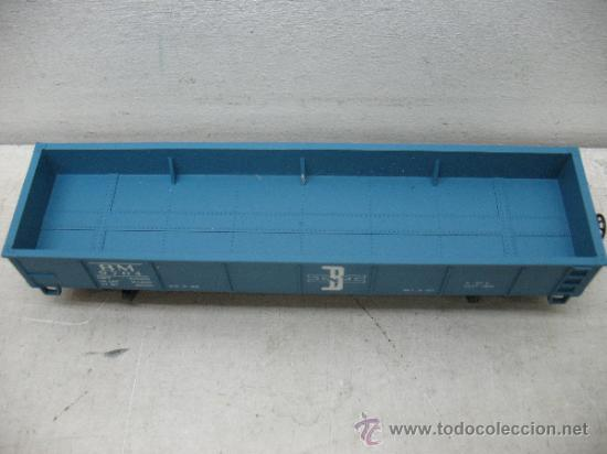 Trenes Escala: RIVAROSSI 2254 - VAGON DE MERCANCIAS BORDE BAJO -BOSTON&MAN-ESC H0- - Foto 3 - 38204569