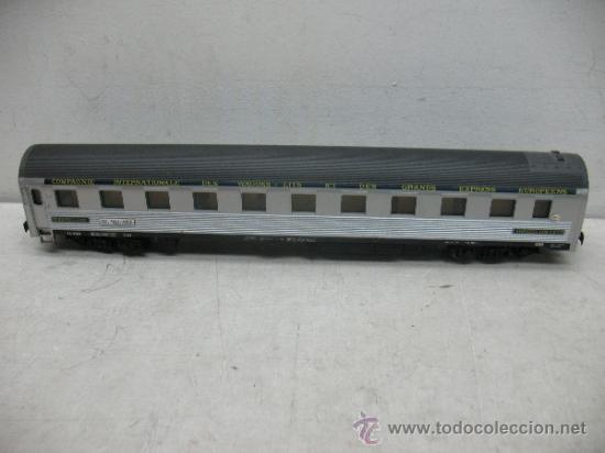 RIVAROSSI - COCHE CAMA LITS COMPAGNIE INTERNATIONALE DES WAGONS - ESCALA H0 (Juguetes - Trenes a Escala H0 - Rivarossi H0)