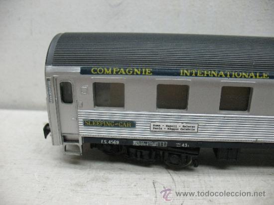 Trenes Escala: Rivarossi - Coche cama Lits Compagnie Internationale Des wagons - Escala H0 - Foto 5 - 39187315