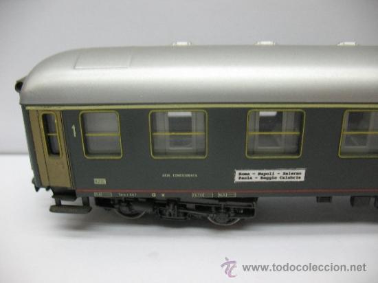 Trenes Escala: Rivarossi - Coche de pasajeros de la FS 508310-78001-2 - Escala H0 - Foto 2 - 39202594