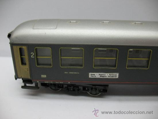 Trenes Escala: Rivarossi - Coche de pasajeros de la FS 508322-78000-0 - Escala H0 - Foto 2 - 39202565