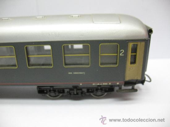 Trenes Escala: Rivarossi - Coche de pasajeros de la FS 508322-78000-0 - Escala H0 - Foto 5 - 39202565