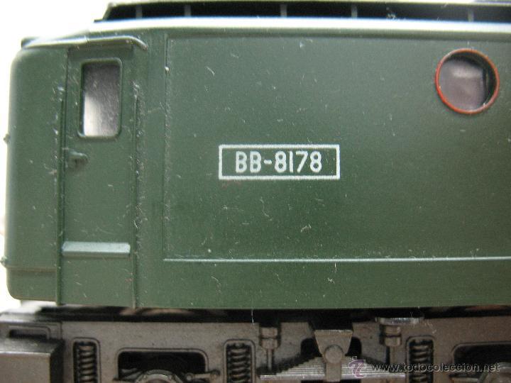Trenes Escala: Rivarossi,Locomotora Electrica BB-8178 de la S.N.C.F - Escala Ho,Dc - Foto 2 - 44040034