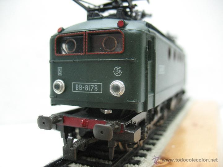 Trenes Escala: Rivarossi,Locomotora Electrica BB-8178 de la S.N.C.F - Escala Ho,Dc - Foto 4 - 44040034
