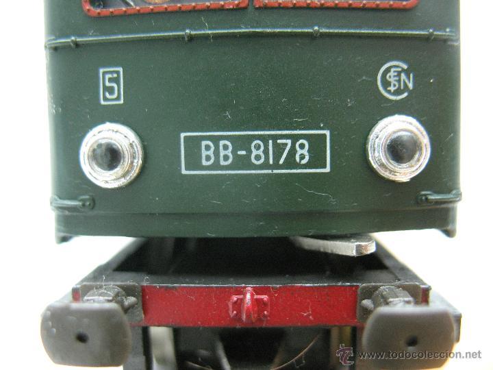 Trenes Escala: Rivarossi,Locomotora Electrica BB-8178 de la S.N.C.F - Escala Ho,Dc - Foto 5 - 44040034