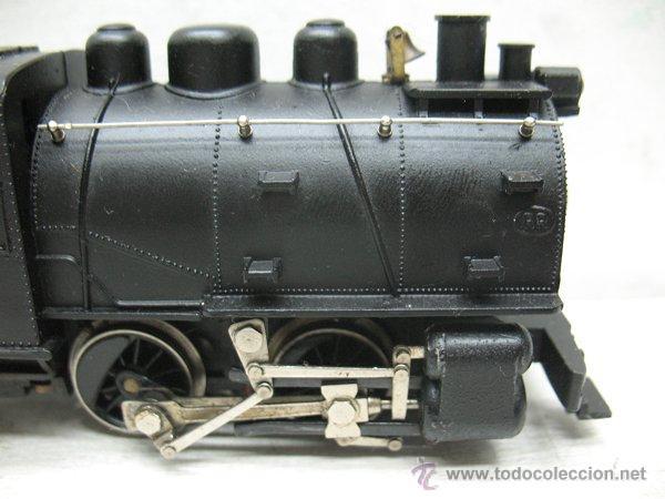 Trenes Escala: Rivarossi RR - Locomotora de vapor de corriente alterna fabricada en Italia - Escala H0 - Foto 4 - 45030779